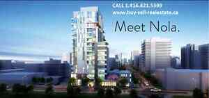 NOLA CONDOS BY LAKE IN PORT CREDIT MISSISSAUGA BOOK NOW VIP