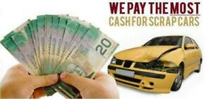 **We Pay The Highest Prices $Cash$ For Scrap Cars - Used Cars - Damaged Cars**   416-904-7840   Free Towing  