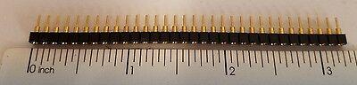 Samtec Machined Pin Header Sockets 1 Row Female 32 Pins .100 2.54mm Au 4-pcs