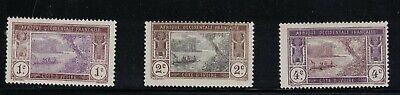 Ivory Coast 42 - 44 - Set Of 3. MH. OG   #02 IVORY42s3
