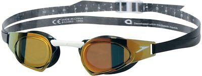 Speedo Japan FINA Swim Swimming prime goggles mirror SD96G51 Black Gold