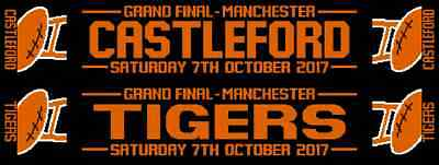 CASTLEFORD TIGERS Grand Final 2017 RUGBY League Scarf