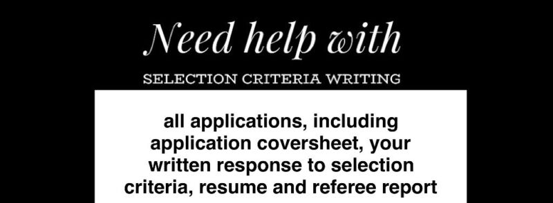 resume writers and government selection criteria service other