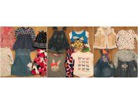 ( 2 PICS) 22 X GIRLS 12-18/18-24 MONTHS JOBLOT INC CATIMINI , NEXT , TUTTO PICCALO , TATTY TED