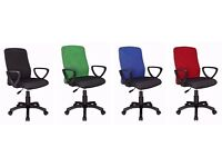 Mesh Fabric Adjustable Home & Office Swivel Computer Desk Chair
