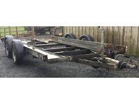 Twin Axle Car Transporter Trailer Braked
