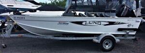 2013 Lund Boat Co Fury 1625 XL Mercury 60hp Minnkota 50lbs