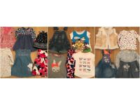 ( 2 PICS) 22 X GIRLS 12-18/18-24 MONTHS JOBLOT INC CATIMINI , NEXT , TUTTO PICCALO , TATTY TED