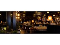 Tarshish Grill Looking to hire Part-time Full-Time Waiter/esses and Comie waiter