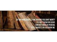 I'll buy your books - house clearance Glasgow & Edinburgh