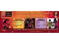 SALSA CLASSES IN NORTH LONDON