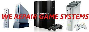 PLAYSTATION ( PS3 ) PS4, XBOX 360 , NINTENDO WII , REPAIRS