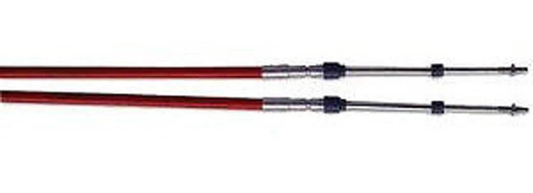 12' SeaStar Solutions 33C Red Jaket Control Cable