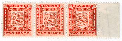 (I.B) Guernsey Revenue : Duty Stamp 2d