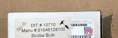 New Genuine Whelen Strobe Bulb 01046128100