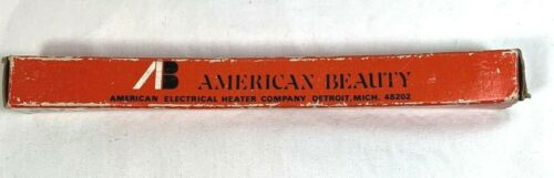 VINTAGE NOS AMERICAN BEAUTY 100 WATT SOLDERING IRON  ELEMENT CAT. NO.9273