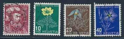 Schweiz Nr. 541-544 gestempelt, Pro Juventute 1949 (39200)
