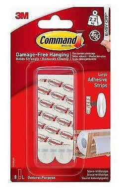 3M Command Large Adhesive Strips (17023)