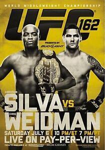 UFC POSTERS - GSP, Anderson Silva, Nick Diaz, Ronda Rousey