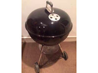 Weber BBQ, Black (with full kit additions) £80. Originally £260