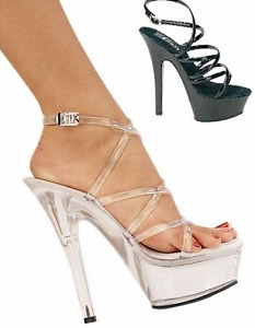 Pleaser Brand Clear Platform Shoes