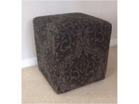 NEXT Dressing Table Chair / Bedroom Cube Chair - fab condition