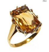 Citrin Ring 585