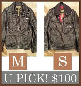 SUPERDRY JACKETS --- 2 Available, (SIZES S + M) --- ONLY $100!!