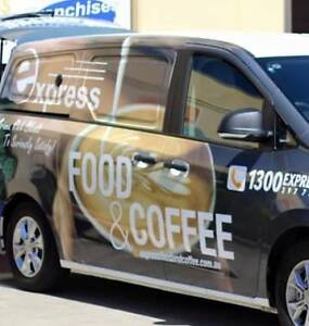 Express Mobile Coffee Van Franchise for sale – only $79,950 + GST Canberra Region Preview