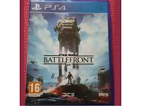 Star wars Battlefront. PS4 (As New). Used