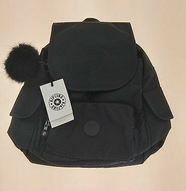 Kipling Live Light Small City Pack Bag Black New