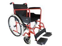 Folding Wheelchair - almost new
