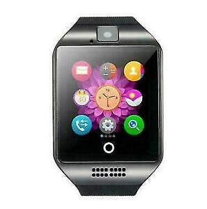 BRAND NEW SMARTWATCH / PHONE- Q18- Android + iOS - MP3 Player