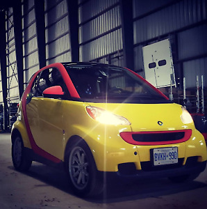 Smart Car (fortwo) Yellow, 2008