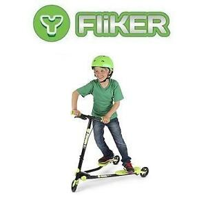 USED Y FLIKER A1 AIR SCOOTER - 127697628 - SELF PROPELLING SCOOTER BLACK/GREEN