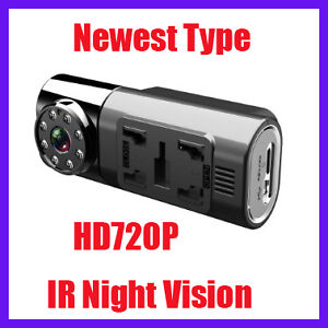 Wide 150° HD 720P IR Night Vision Car Dash Cam Video Camera Recorder  DVR