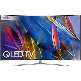 Samsung 49 inch qled newest model out brand new boxed comes with new upscaling box for streaming