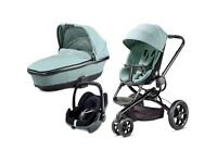 Quinny Moodd pebble travel system plus isofix seat and accessories