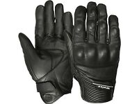 Weise Vagos Short Motorcycle Gloves Black - Size Large