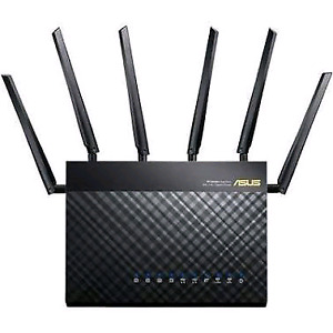 Practically new  ASUS AC3200 Triband Wireless Router