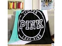 fleece blanket bed sofa throw