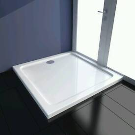 90 x90 square shower tray brand new
