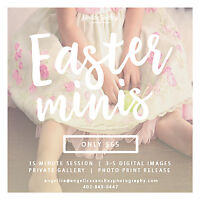 Easter Mini-sessions