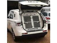 2014 Mitsubishi Outlander POLICE DOG UNIT K9 VAN 2x Large kennels fans a/c 4x4