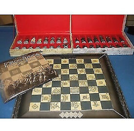 the lord of the rings special collector's edition chess set