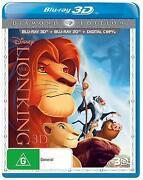 Lion King 3D Blu Ray