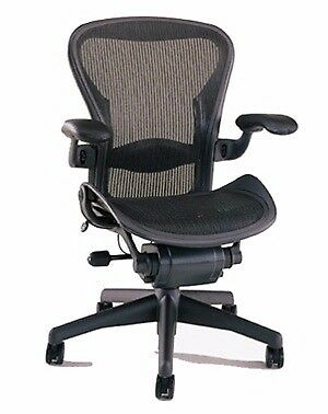 Herman Miller Aeron Chair Size B Lumbar Support Office Surplus