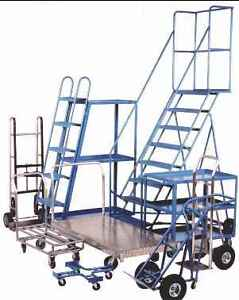 USED ROLLING LADDER ON SALE. MECHANICS MOBILE LADDER. SAVE $ 315 Kitchener / Waterloo Kitchener Area image 4