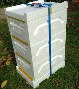 Bee box. Bee hive. Triple boxes. Brand new. Modbury North Tea Tree Gully Area Preview