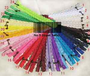 3-Nylon-Coil-Lace-Zipper-Zippers-DIY-Tailor-Sewer-Sewing-Craft-tracking-ship